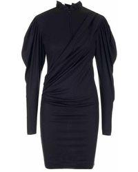 Isabel Marant Ro156221h056i01bk Dress - Zwart