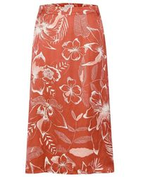 Part Two 30305101 skirt - Rouge