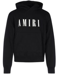 Amiri Logo Hoodie - Zwart