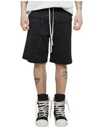 Rick Owens Shorts - Zwart