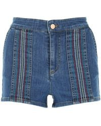 See By Chloé Shorts - Blauw