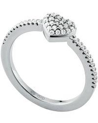 Michael Kors Mkc1338an040 Ring - Grijs