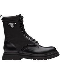Prada Classic Boots - Zwart