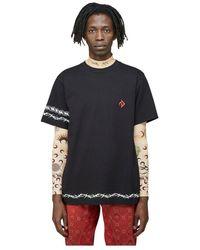 Marine Serre S t-shirt - Negro