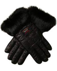 Paul & Shark Handschoenen Met Bont Fabrikant Id: I20f7200 - Zwart