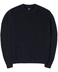Edwin Meridian Sweater - Blauw