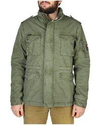 Superdry Jacket - M5010351A - Grün