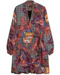 Alix The Label Satin short dress 204315653-100 - Rose
