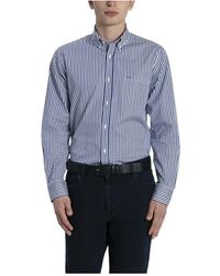 Sportmax Shirt overhemd ruit - Blau