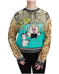 Dolce & Gabbana Sweater - Blauw