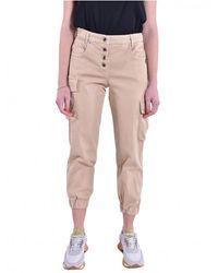 Borbonese Pantaloni Mastic 8P0317 - Neutre