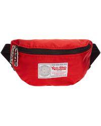 Gcds Men's Belt Bum Bag Hip Pouch - Rood