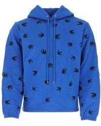 Alexander McQueen Sweatshirt - Blauw