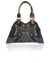 Fendi Vintage - Beaded Devil Trapezio Tote Bag Handbag - Lyst