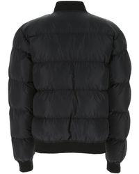 Moschino Jacket with logo Negro