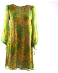 Maliparmi Short Dress - Groen