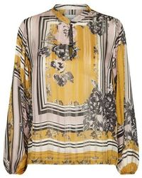 Second Female Valley Inca Blouse 52756-2019 - Geel