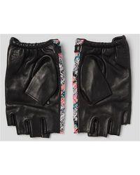 Karl Lagerfeld Gloves Negro