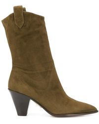 Aquazzura Boots Boot - Vert