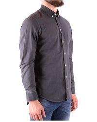 Armani Shirt Hcss6T 38024740 Gris