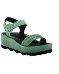Vienty Sandals - Vert
