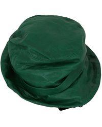 Dolce & Gabbana Bucket Cap Hat - Groen