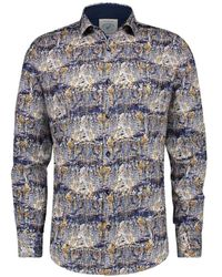 A fish named fred Shirt - Blauw