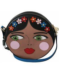 Dolce & Gabbana Crystal Crossbody Bag - Blauw