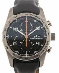 Porsche Design Cronotimer Serie 1 watch - Noir