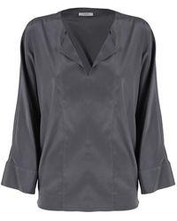 Peserico Shirt - Grijs