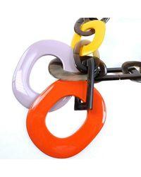 Hermès Halskette - Orange