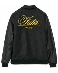 Iuter Family varsity jacket - Gris