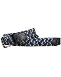 Paul & Shark Woven Belt 103 - Blauw