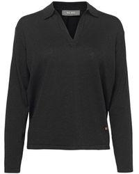 Mos Mosh Wylie Lurex Knit 801 blouse - Noir