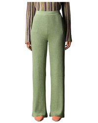 M Missoni Trousers - Groen