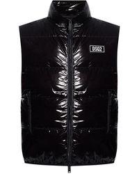 DSquared² Sleeveless Vest - Zwart