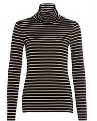 MARC AUREL Shirt Lange Mouw - Zwart
