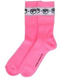 Chiara Ferragni Logomania Socks - Roze