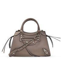Balenciaga Neo Classic Shoulder Bag - Naturel