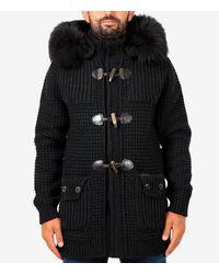 Bark Coat - Noir