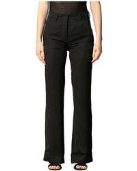 Laneus Pantalone Lungo - Zwart