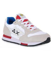 Sun 68 - Ba1057px131 H Wedge Sneakers - Lyst