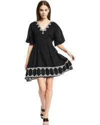 GAUDI Boho Dress - Zwart