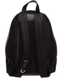 Neil Barrett Rucksack backpack travel thunderbolt fair isle Negro