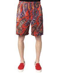 Needles Shorts - Rosso