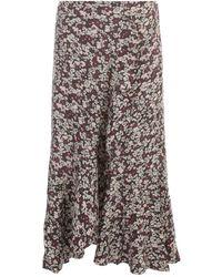 Ganni Straight Skirt - Bruin