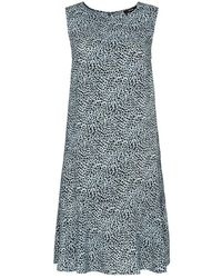 Opus Dress - Blauw