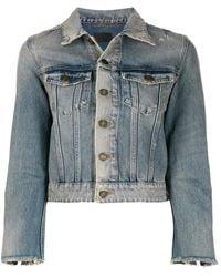 Saint Laurent Denim Jacket - Blauw