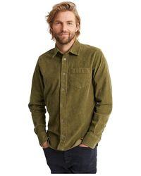 Denham Harrison Shirt- 01200940081-Green - Vert