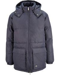 Brixtol Textiles Puffer Jacket - Blau